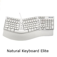 Microsoft Natural Keyboard Elite